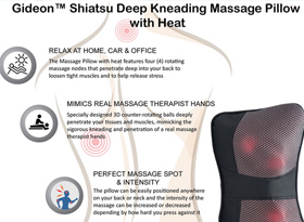 Gideon-Massage Pillow